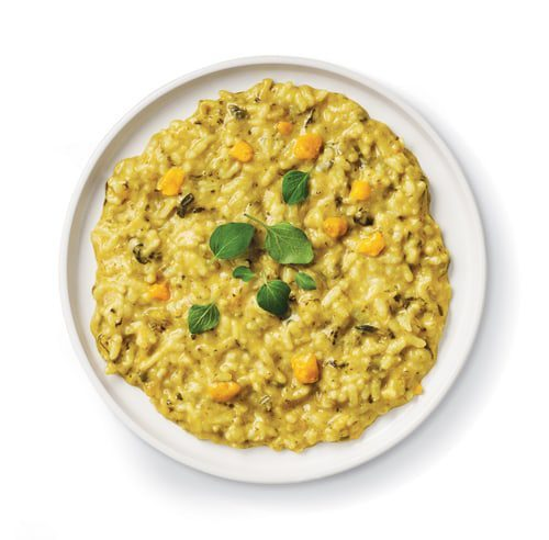 Pumpkin, Leek & Spinach Risotto
