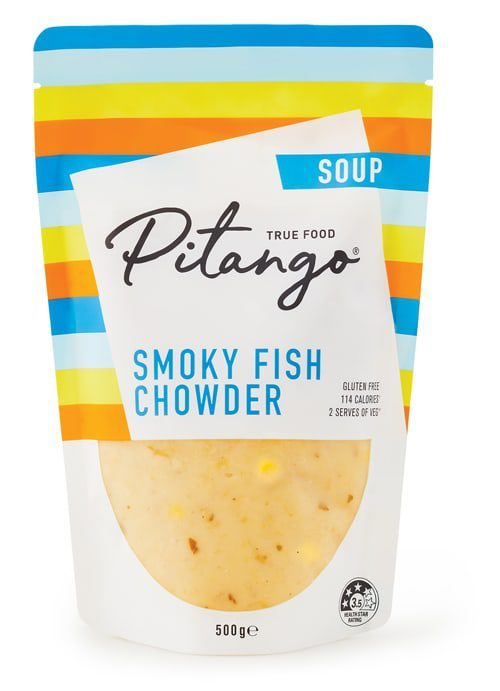 Smoky Fish Chowder Soup